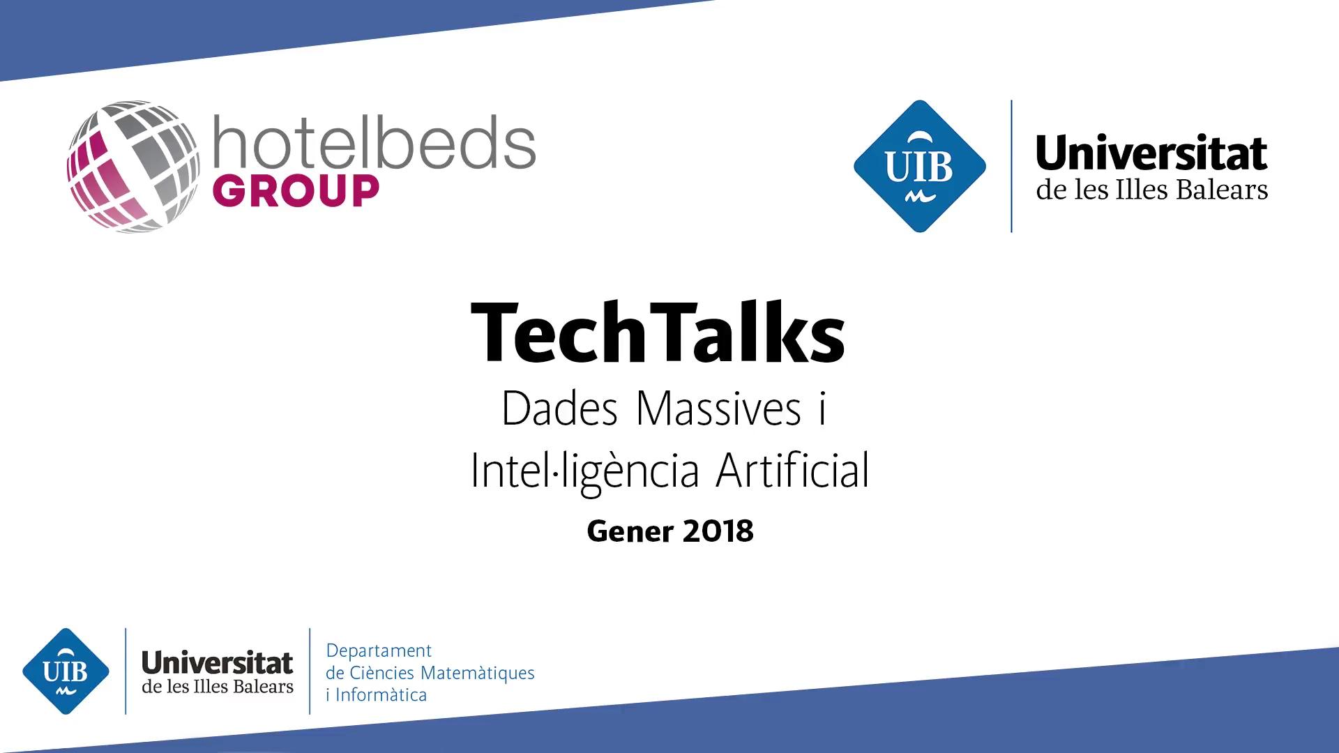 TechTalks: Càtedra HotelBeds